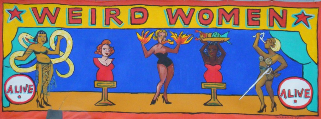 Weird Women banner by Marie Roberts