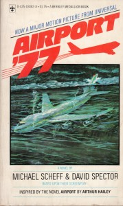 Cover from tie-in novel for Airport '77