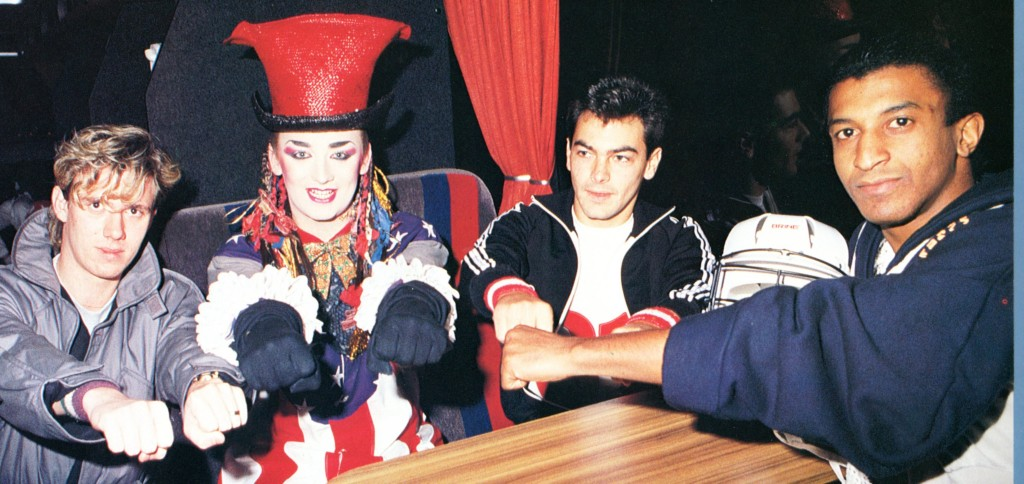 Culture Club photo from tour program