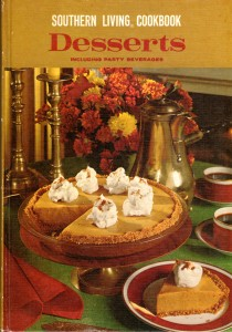 Southern Living Desserts Cookbook cover (1967)
