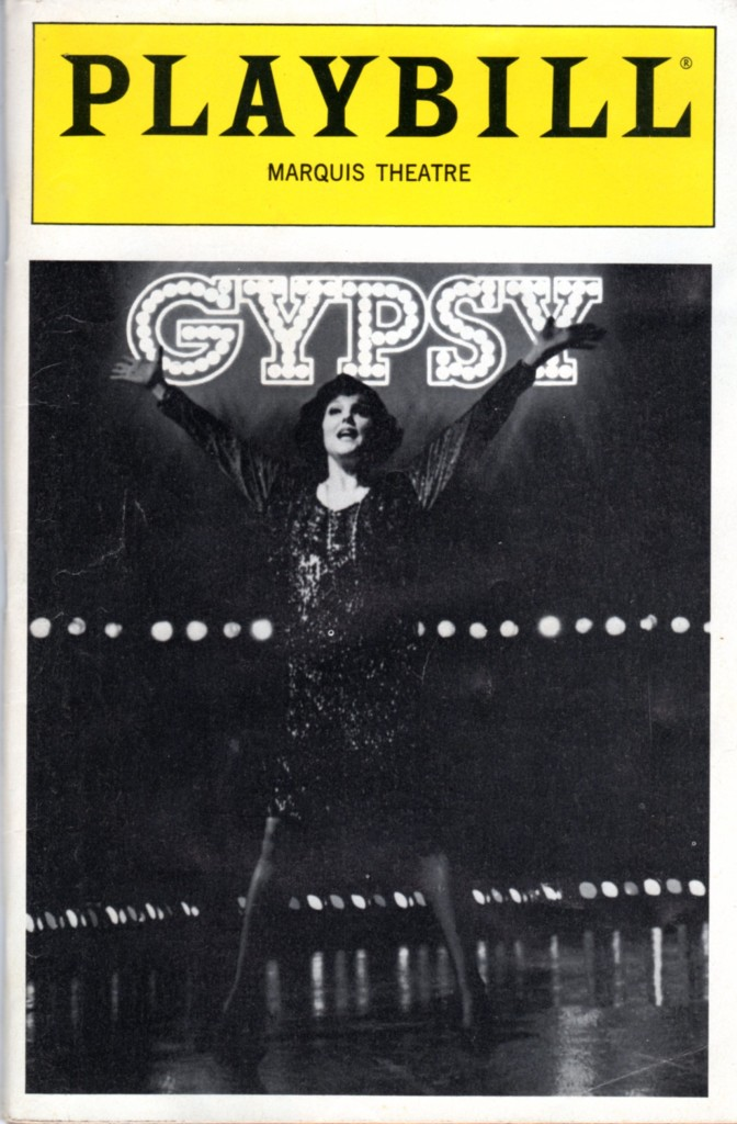 Playbill cover for Gypsy (1991)