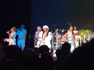Nile Rodgers and Chic at Moogfest on April 26, 2014.