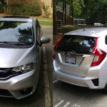 2015 Honda Fit in silver