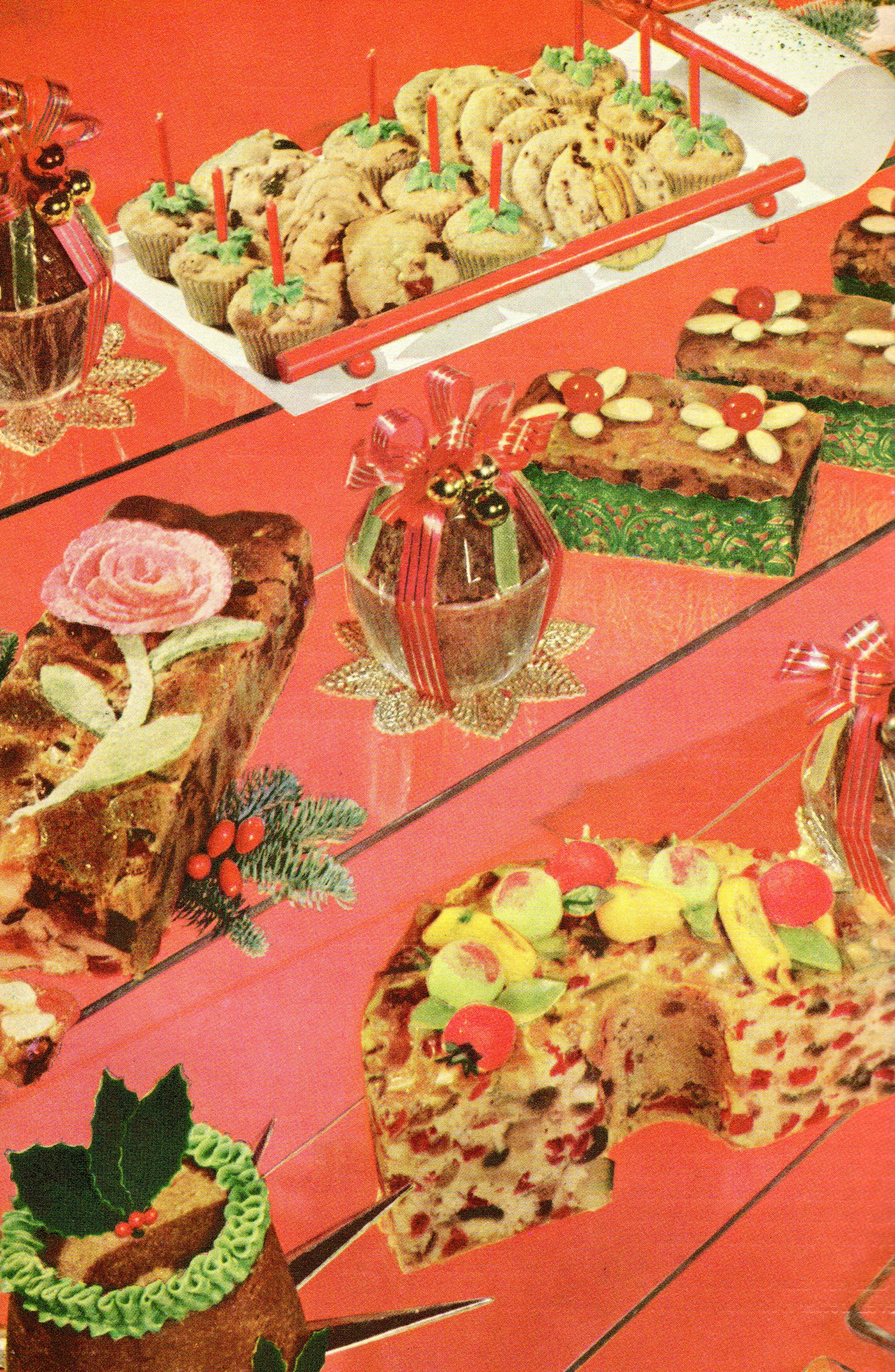 photo showing multiple fruitcakes - Better Homes And Gardens Archives