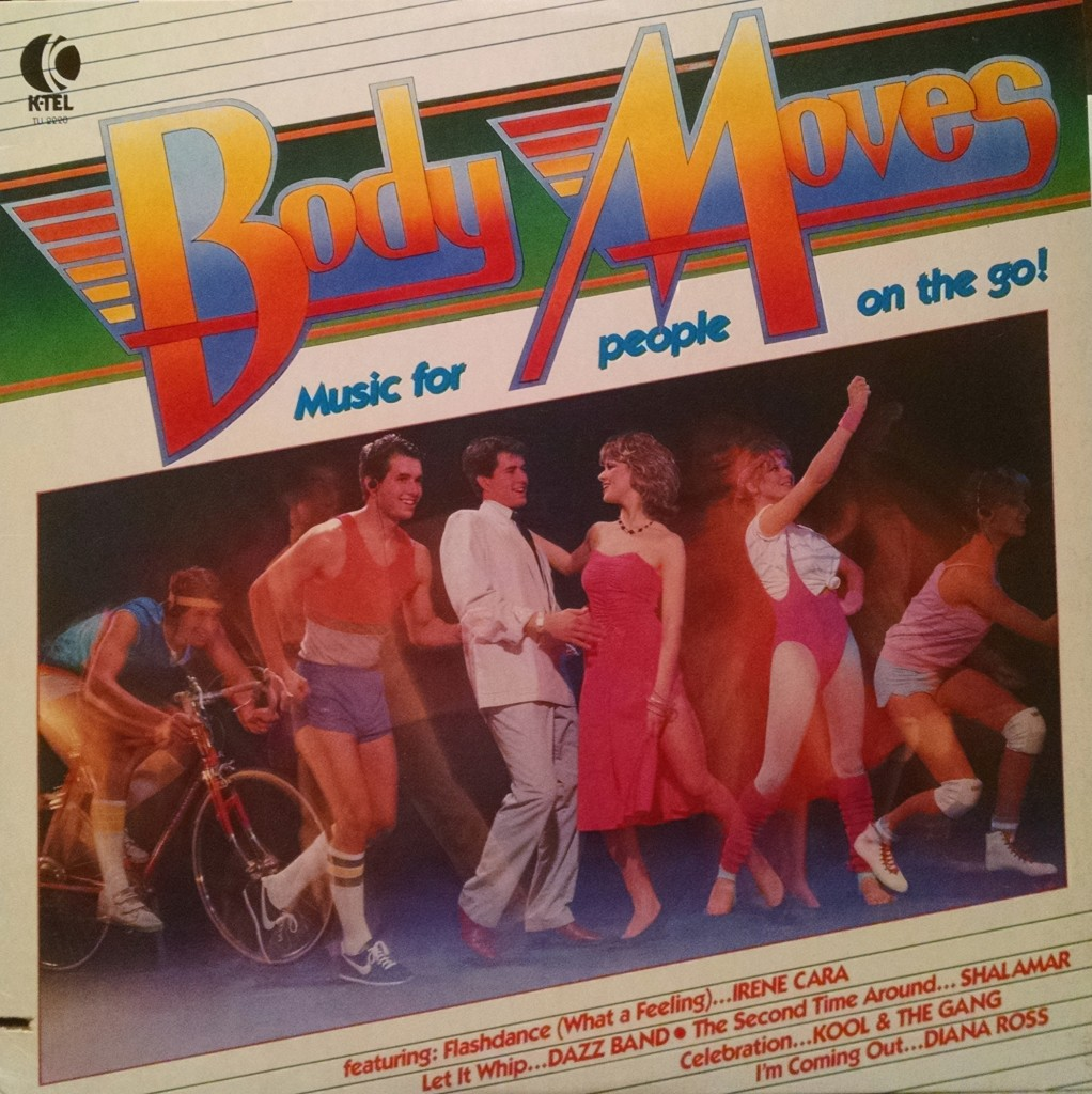 album cover for K-tel's Body Moves