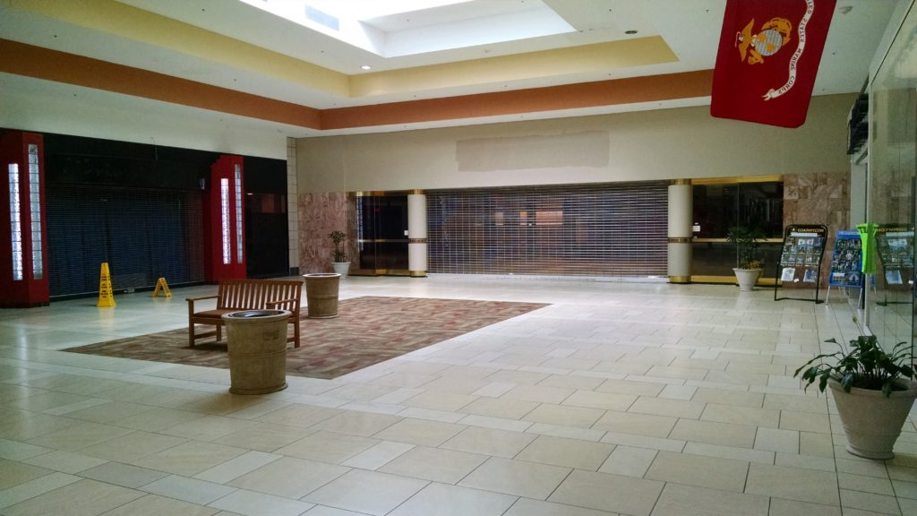 Entrance to former Sears store in Cary Towne Center