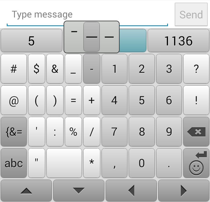Swiftkey Em Dash Alan Pringle